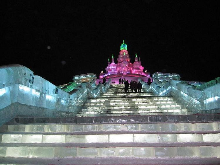 The Harbin International Ice and Snow Festival in China