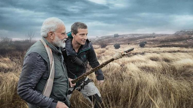 PM Modi Was Calm, Report Bear Grylls