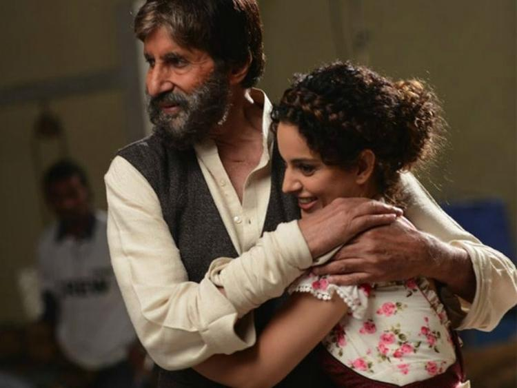 Guess Which Film Will Have Kangana Working with Amitabh Bachchan.