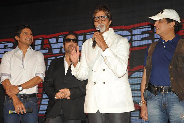 Mika to Compete With Big B!
