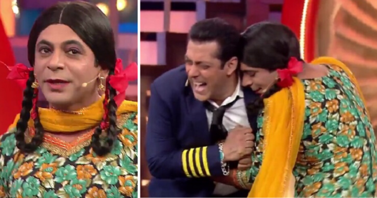 Gutthi Charms the Host of Bigg Boss!