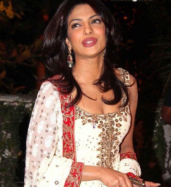 Priyanka at reception