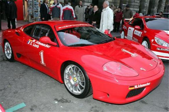 Sachin Tendulkar's Ferrari