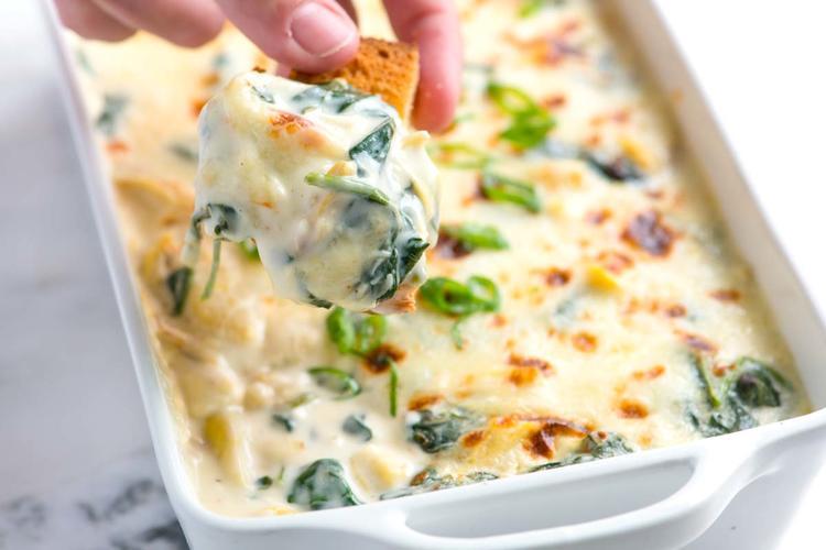 Yummy Spinach Artichoke Dip Recipe