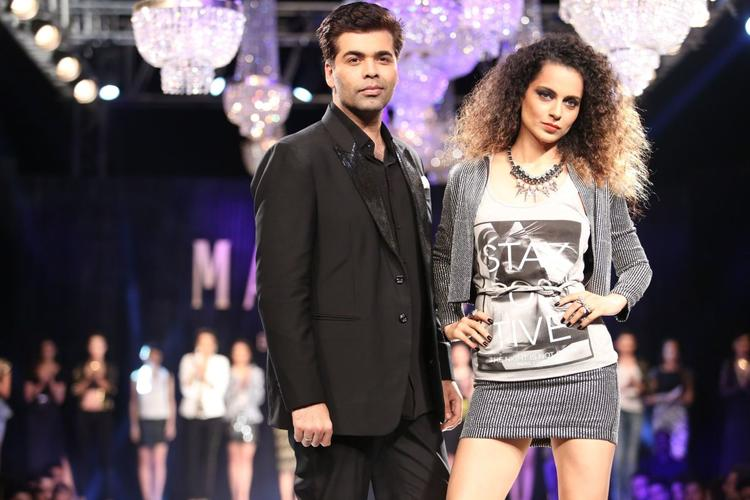 After KJo's Outburst, Is Kangana in trouble?