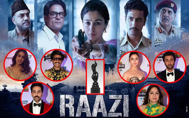 Filmfare Awards 2019 - the Big Winners