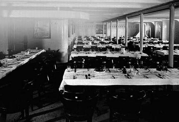Titanic - The dining area