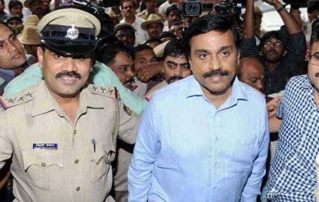 Mining baron Janardhan Reddy's offices raided by Income Tax.